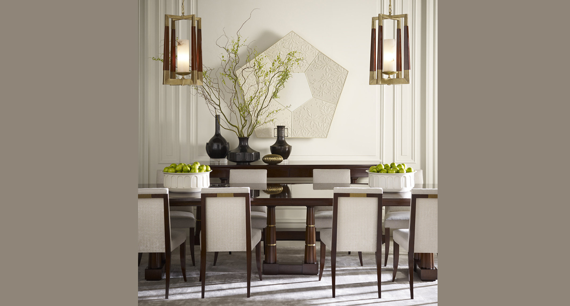 Baker Column Dining Table